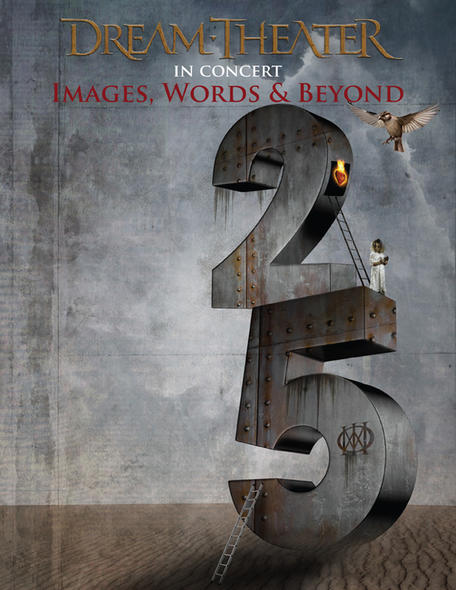 Dream Theater Images and Words 25th Anniversary Tour Graphic