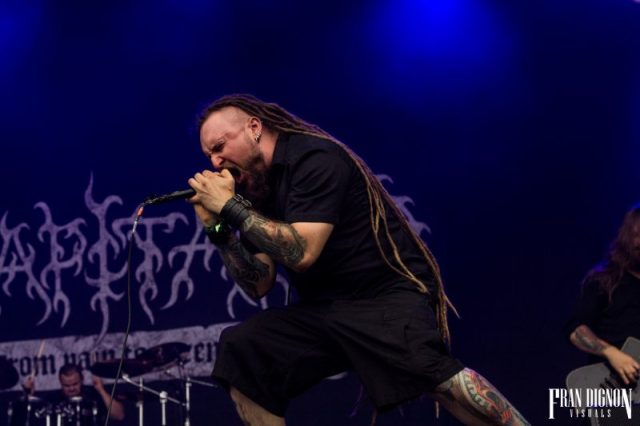 Decapitated On Stage At Bloodstock Open Air Festival 2017