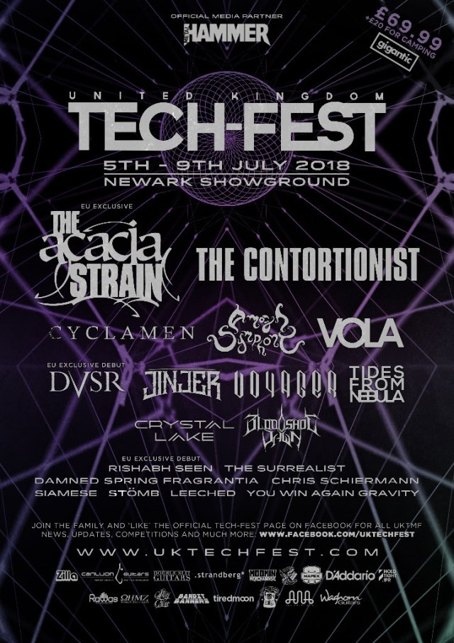 Tech-Fest 2018 First Line Up Poster