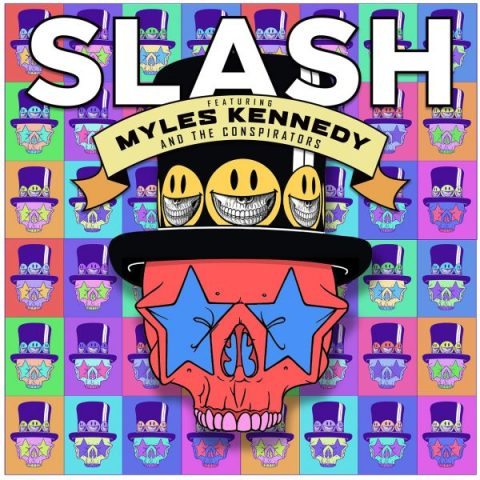 Slash Living The Dream Album Artwork