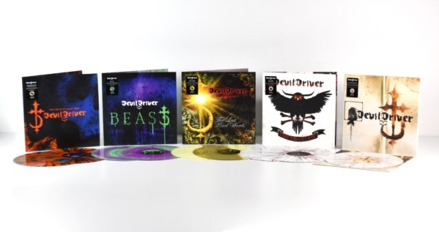 Devildriver 2018 Album Re-Releases