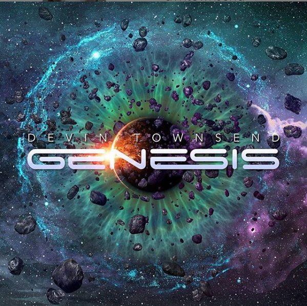 Devin Townsend Genesis Single Artwork