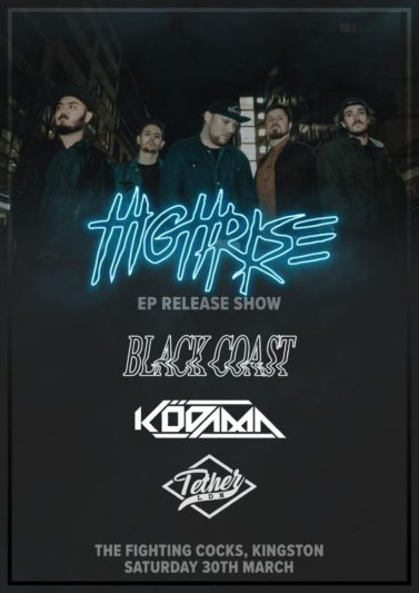 High Rise EP Release Poster