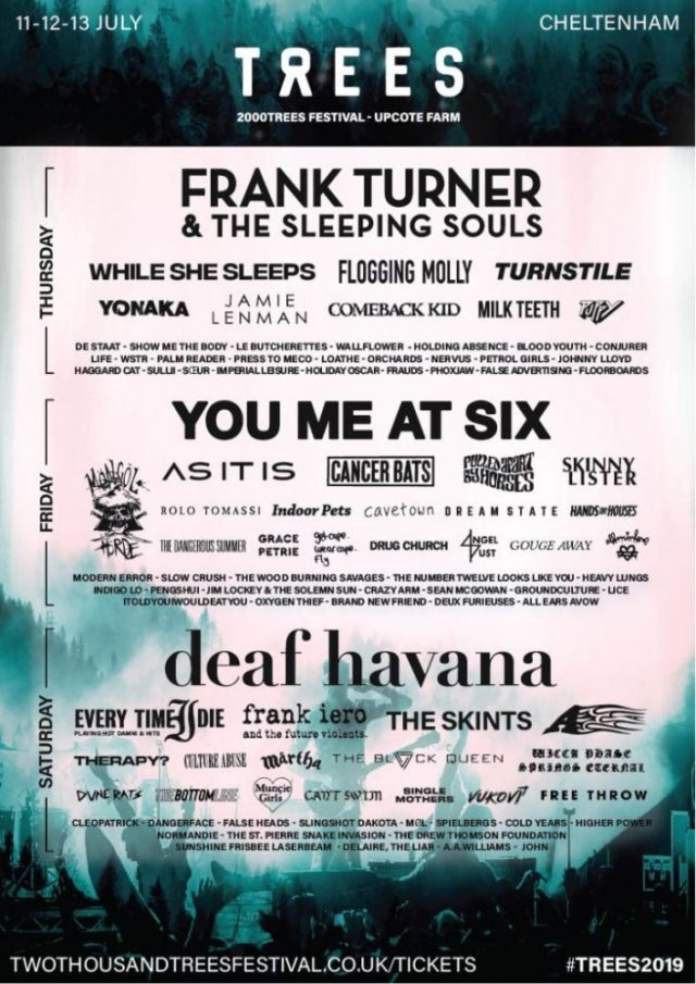 2000 Trees Poster - Lineup-Announcement-04-27.03.19-01-1-724x1024