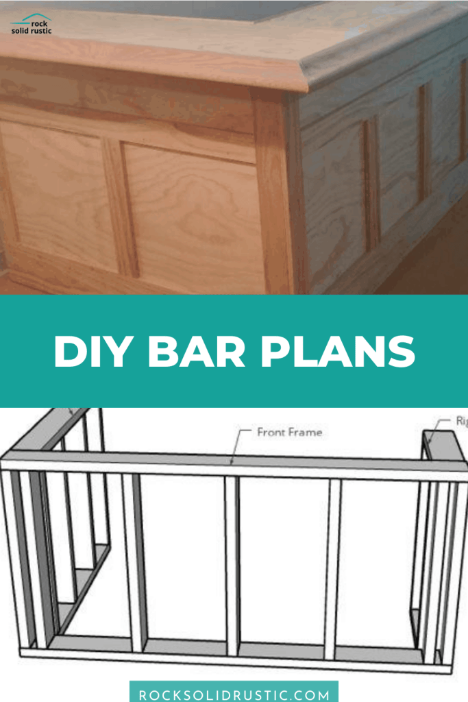 diy bar plan and bar cut list