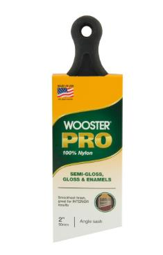 wooster angled brush