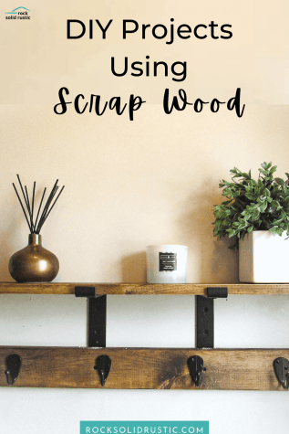 scrap wood shelves