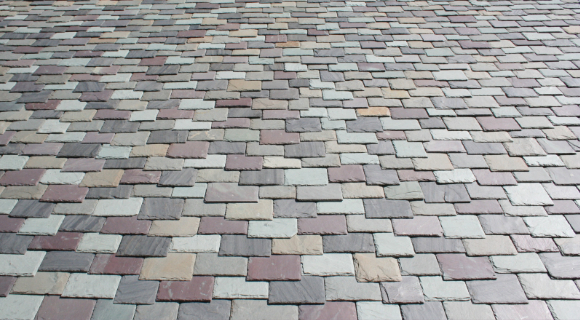 Multi colored shingles