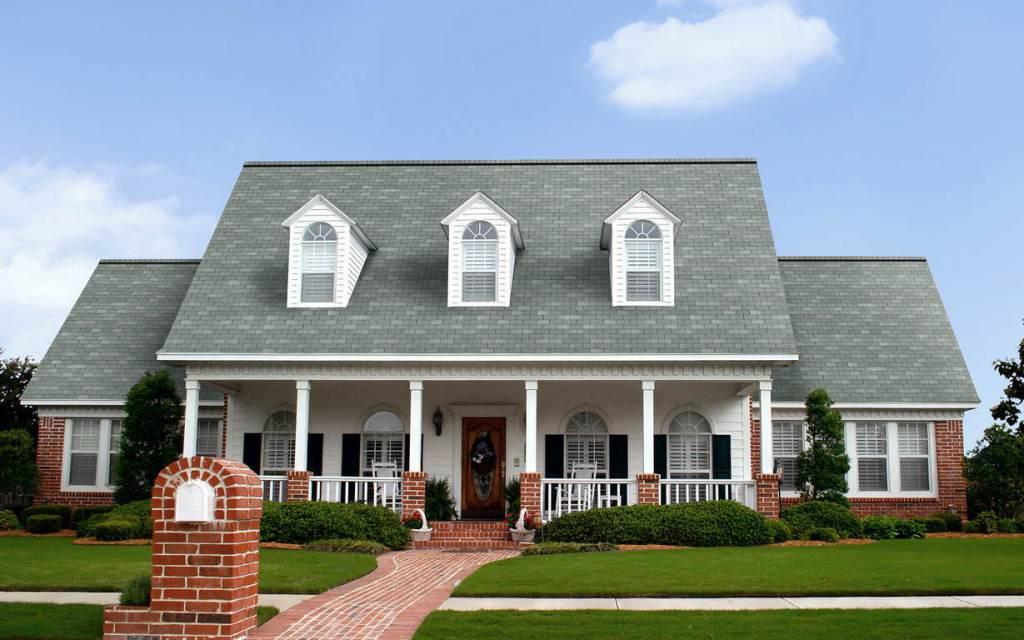 Shasta White Roof Home