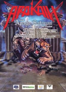Plakát Arakain k Tour