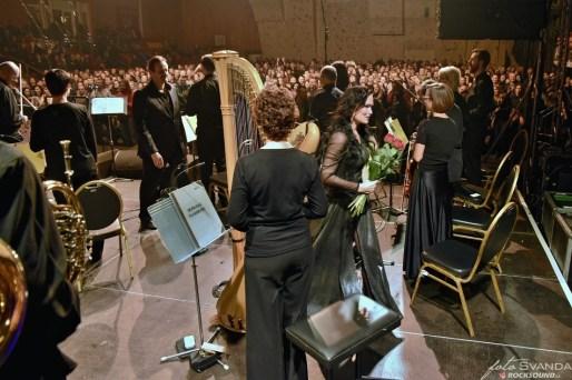 Tarja Turunen konec koncertu