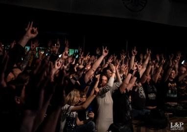 Miloš Meier_Drumming Syndrome v Lucerna Music Baru fans