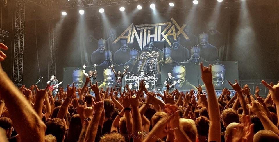 Anthrax, Praha 2019