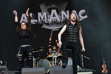 Almanac, Metalfest 2019