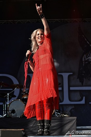 Delain. Charlotte Wessels, Masters of Rock 2019