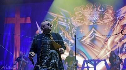 Sabaton, Joakim Brodén, O2 arena, Praha