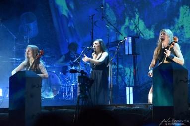Apocalyptica, Elize Ryd, O2 arena, Praha