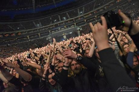 Fans Sabaton, Apocalyptica, Amaranthe, O2 arena, Praha