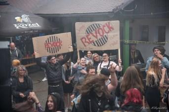 Koncert Revock a Zombie párty v Havlíčkově Brodě