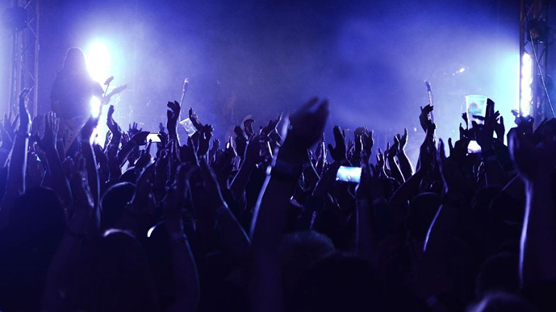 Koncert a jeho fans