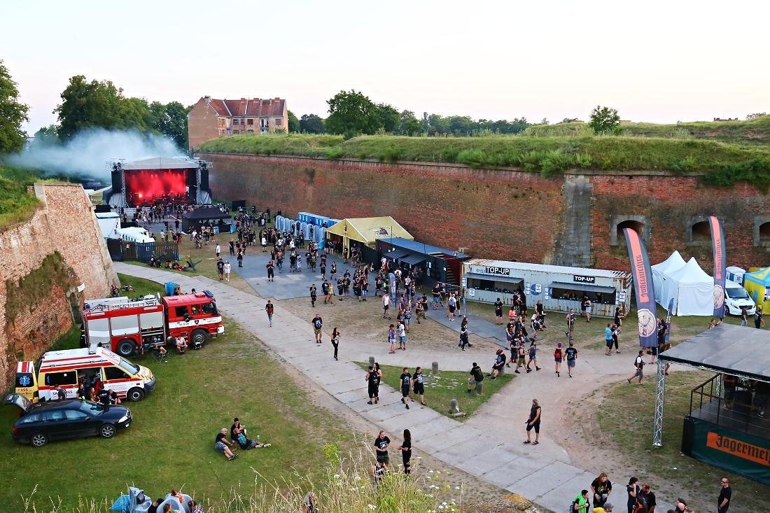 Festival Josefoff, areál festivalu