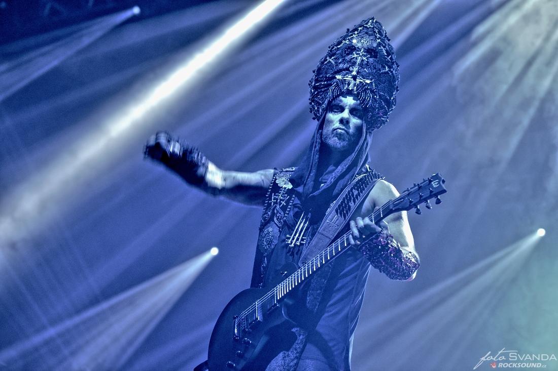 "Behemoth, Adam ""Nergal"" Darski / foto: Honza Švanda"