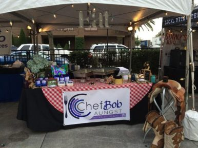 Chef Bob's Chili for Charity Booth