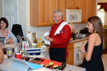 Private cooking class in Dr. Phillips.