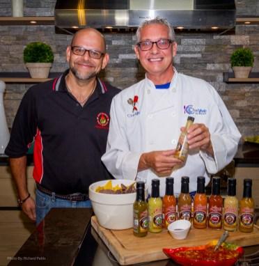 Chef Bob's Luau w/ Fire Fruits Hot Sauces