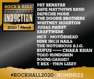 RockHall - 2020 - Inductees