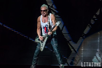 Scorpions perfom at Molson Amphitheatre in Toronto