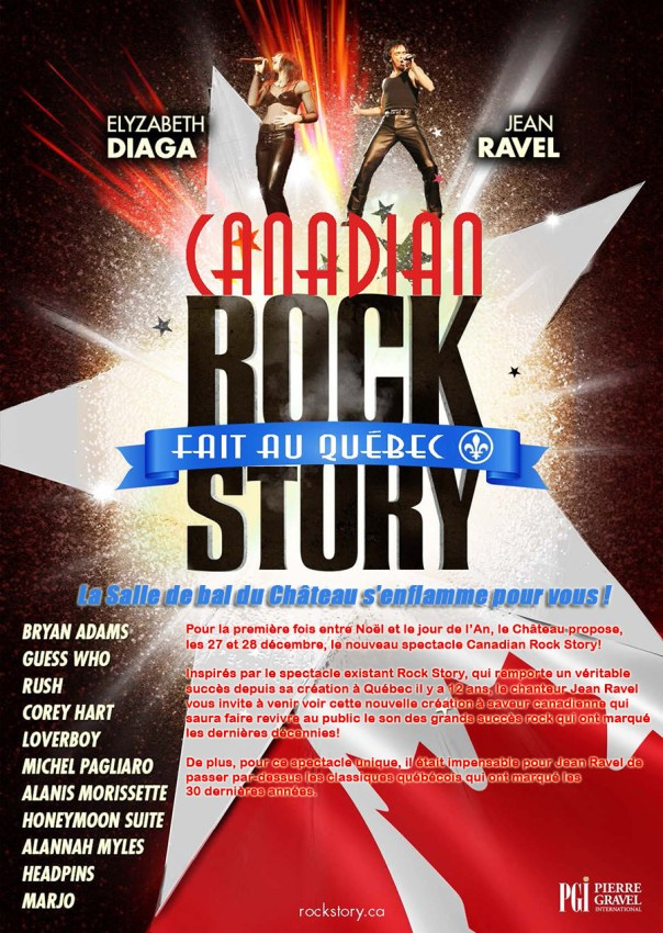 Affiche Canadian Rock Story