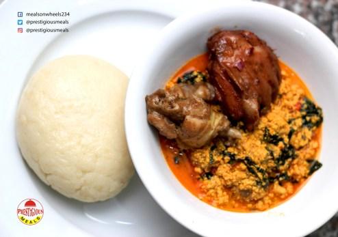 Prestigious Meals Pounded Yam