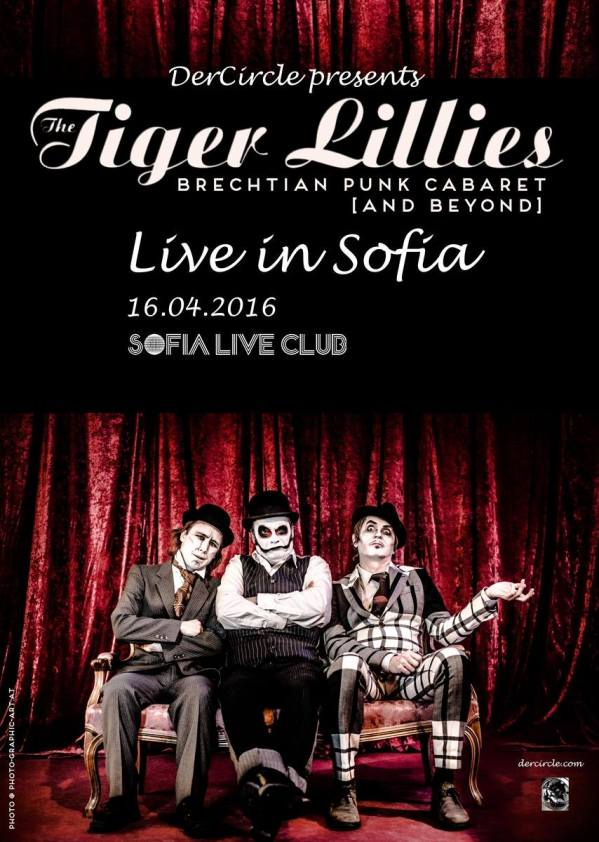 2016.04.16 The Tiger Lillies (Der Circle)