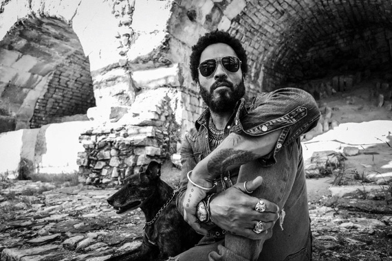 Lenny Kravitz by Matthieu Bitton