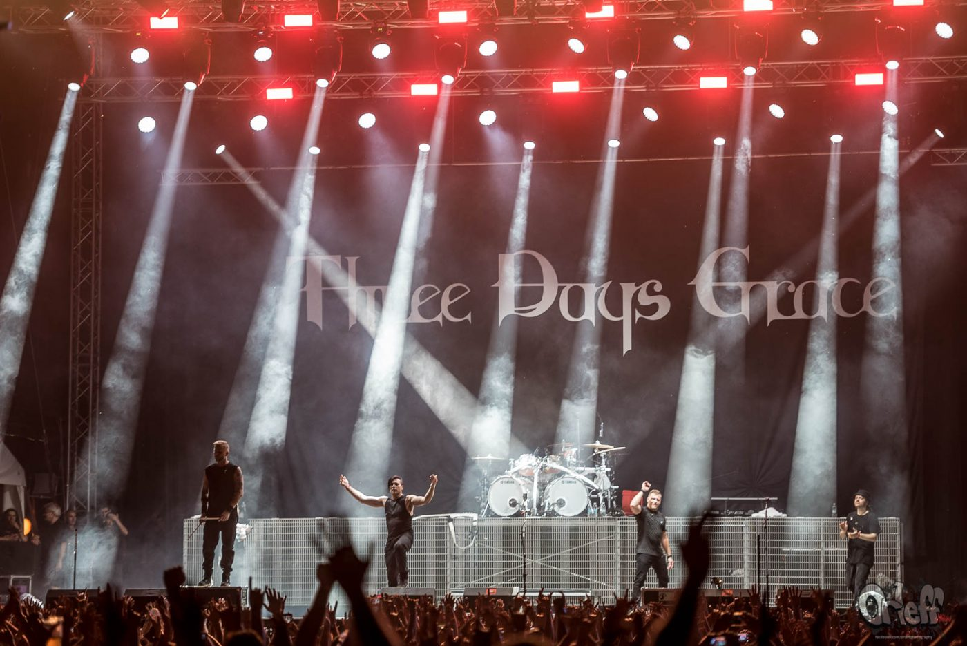 Three Days Grace @ Hills Of Rock Festival, 2017