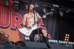 Airbourne @ Nova Rock Festival, 2017