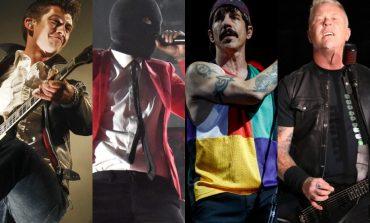 Най-големите рок групи според Spotify