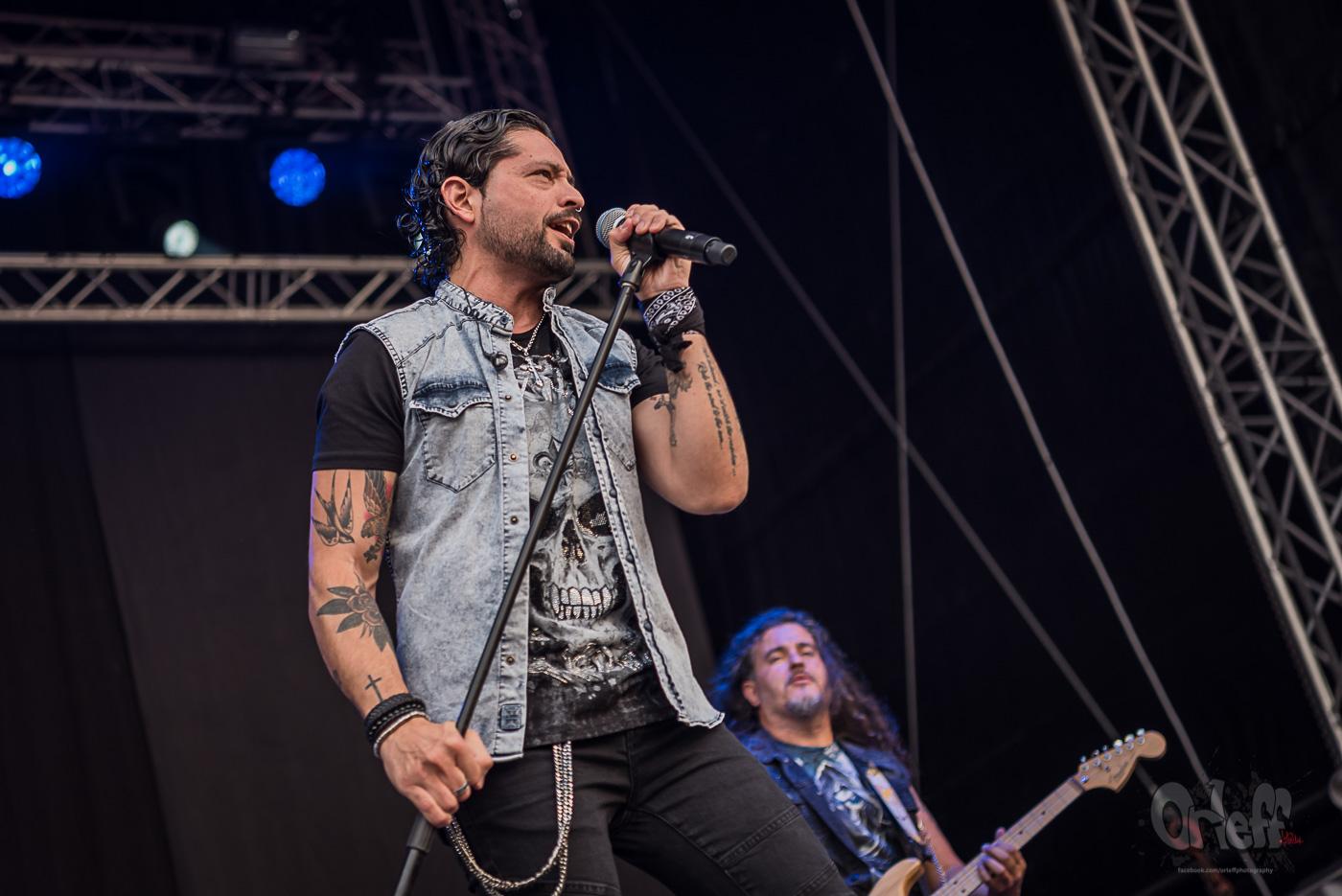 Ronnie Romero & Eridan @ Hills Of Rock, 2019