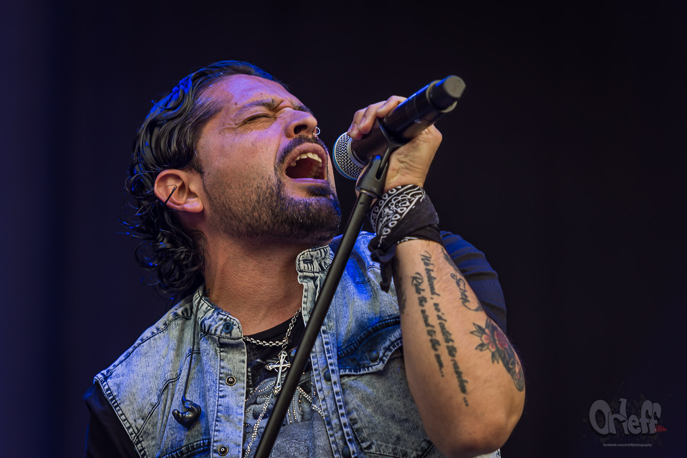Ronnie Romero & Eridan @ Hills Of Rock, 2019