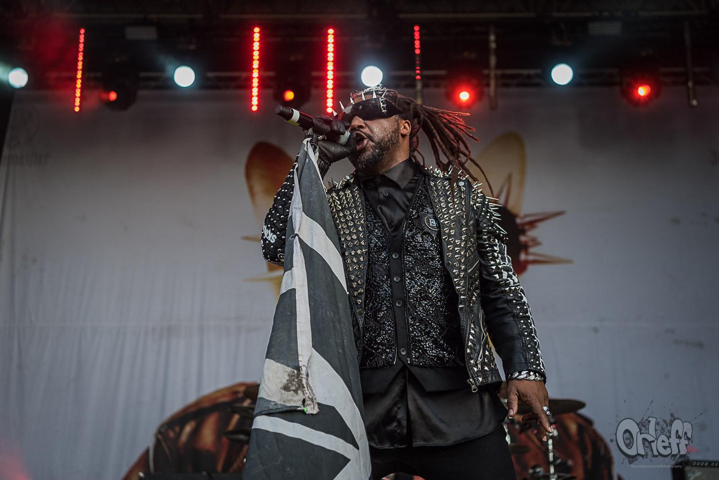 Skindred @ INmusic festival, 2019