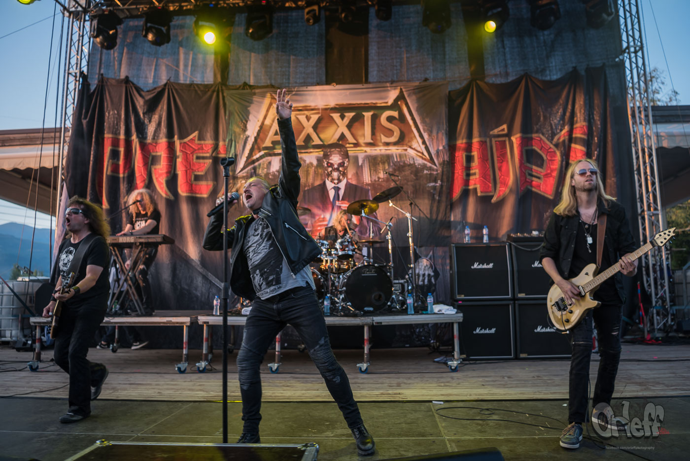 Axxis @ Wolf Fest, 2019