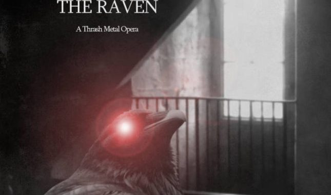 Chris Violence brings The Raven to life