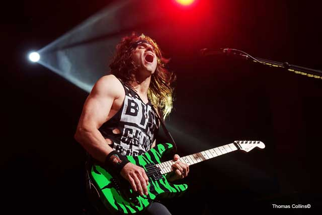 Steel Panther LIVE at The Fillmore Satchel photo by Thomas Collins – 2