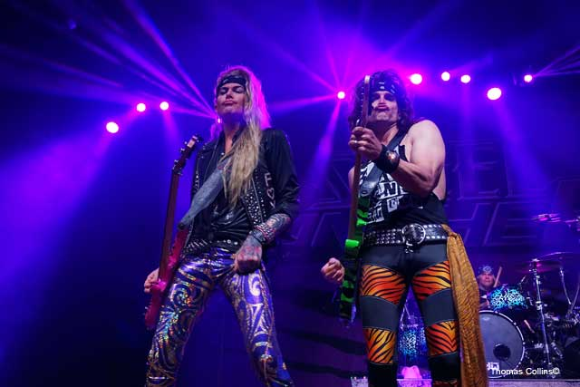 Steel Panther LIVE at The Fillmore Lexxi Foxx with Satchel photo by Thomas Collins – 2