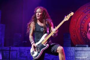 Iron Maiden Bassist Steve Harris - Photo by Tom Collins