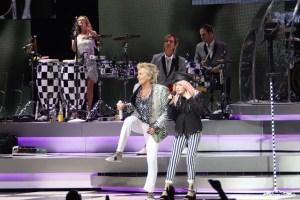 Sir Rod Stewart and Cyndi Lauper
