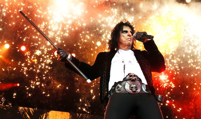 Alice Cooper - Photo by Tom Collins