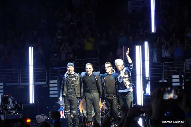 U2 EXPERIENCE + INNOCENCE TOUR - Photo by Tom Collins from Rock Titan TV