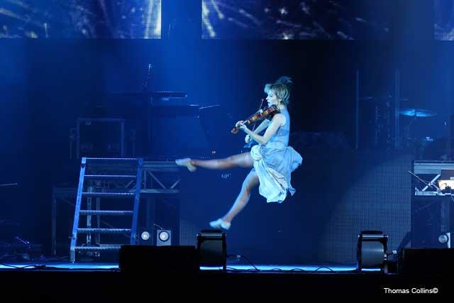 Lindsey Stirling - Photo by Tom Collins - Rock Titan TV